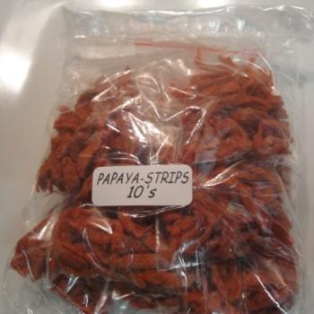 red papaya strips